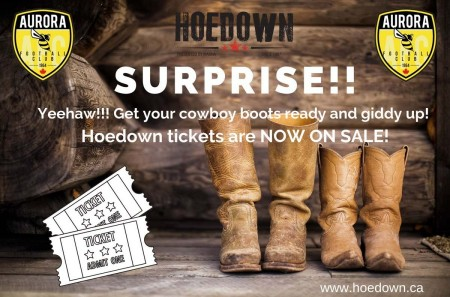 Hoedown event tickets available online!