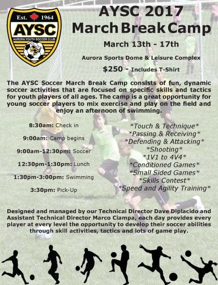 Register Now For March Break Camp