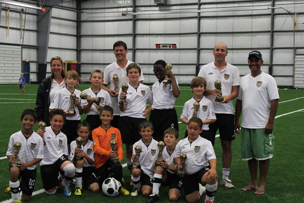 U10BT2 Newmarket Tournament Champs
